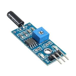 SW-18010P 3V-5V Open Type Vibration Sensor Switch Module Alarm Trigger For Arduino