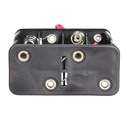 12V 8 x AA Battery Clip Slot Holder Stack Box Case 6 Inch Leads Wire preview image 5