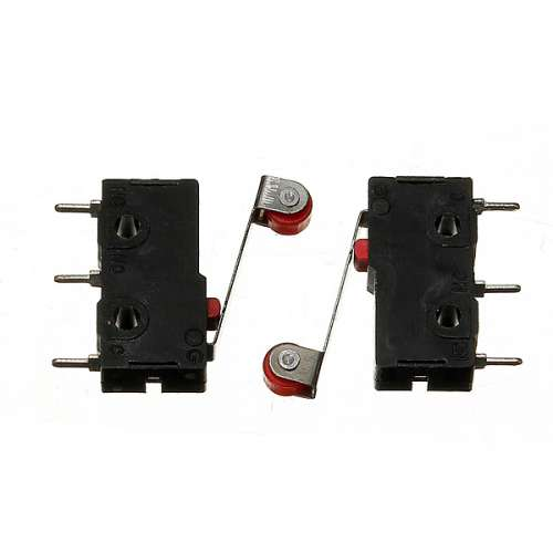 KW12-3 Micro Limit Switch With Roller Lever Open/Close Switch 5A 125V preview image 1