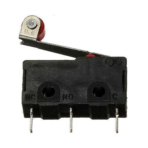 KW12-3 Micro Limit Switch With Roller Lever Open/Close Switch 5A 125V preview image 2