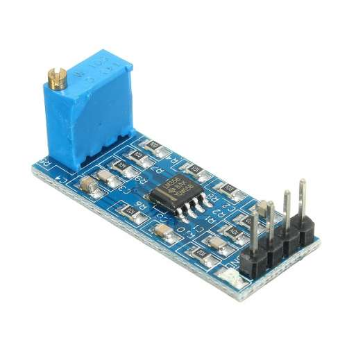 LM358 100 Times Gain Signal Amplification Amplifier Operational Module DC  5-12V For Arduino