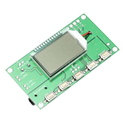 FM Receiver Module DSP PLL Digital Storage Wireless Frequency Modulation FM  Radio Receiving Board