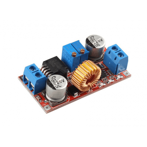 5A Constant Current LED Driver Module & Battery Charger - Red preview image 0