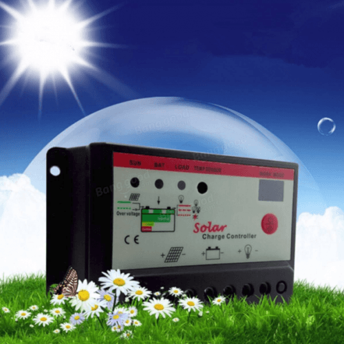 10A 12V 24V Solar Panel Battery Regulator Auto Switch Charge Controller